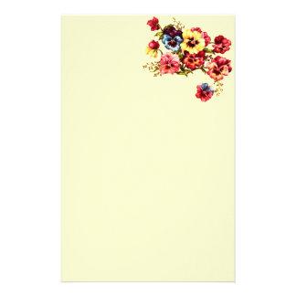 Frühlings-Blumen-Briefpapier Briefpapier