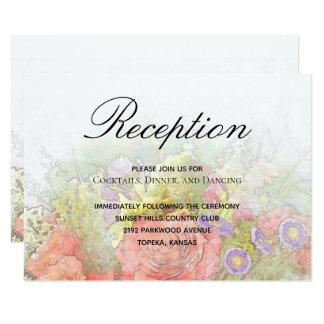 Frühlings-Blumen, die Empfangs-Einschließung Karte