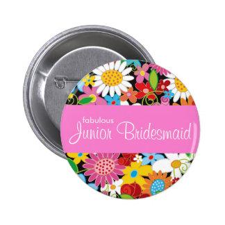 Frühlings-Blumen, die Juniorbrautjungfern-Namen-Um Anstecknadel