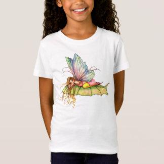 Frühlings-Blumen-feenhafter Mädchen-T - Shirt