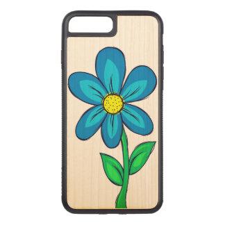 Frühlings-Blumen-Illustration Carved iPhone 8 Plus/7 Plus Hülle
