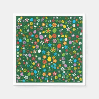 Frühlings-Blumen Papierservietten
