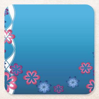 Frühlings-Blumen Rechteckiger Pappuntersetzer