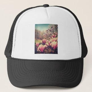 Frühlings-Blumen Truckerkappe