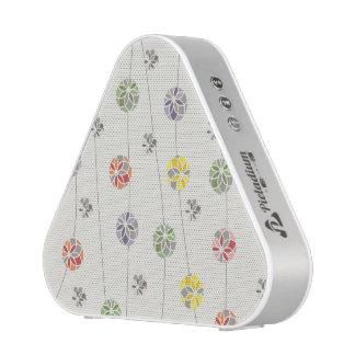 Frühlings-Blumenkreis-Muster Bluetooth Lautsprecher
