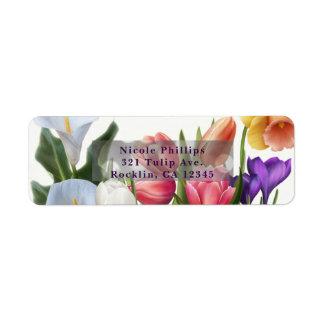 Frühlings-Blumenosterei-Brautparty-Einladung
