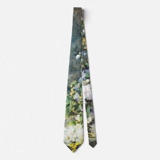 Frühlings-Blumenstrauß durch Pierre Renoir, Personalisierte Krawatte