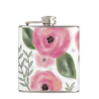 Frühlings-Blumenstrauß-Flasche Flachmann