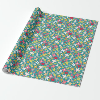 Frühlings-Blumenwiese Geschenkpapier