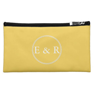 Frühlings-Designer 2017 färbt Primel-Gelb Cosmetic Bag