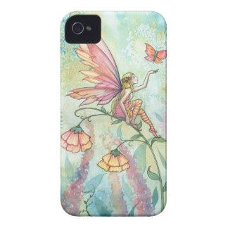 Frühlings-Fantasie-feenhafte Schmetterlings-Kunst iPhone 4 Case-Mate Hülle