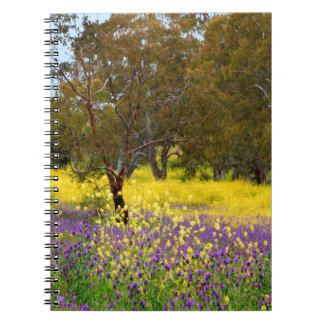 Frühlings-Farbe Notizblock