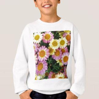 Frühlings-Gänseblümchen-Blüte Sweatshirt
