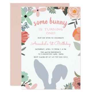 Frühlings-Geburtstags-Party Einladung des