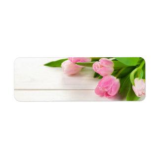 Frühlings-Hintergrund mit Tulpe-Blumen