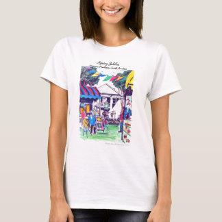 Frühlings-Jubiläum-Damen-T-Stück T-Shirt