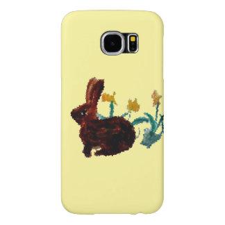 Frühlings-Kaninchen-Narzissen-Kunst