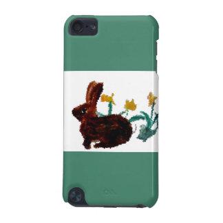 Frühlings-Kaninchen-Narzissen-Kunst iPod Touch 5G Hülle