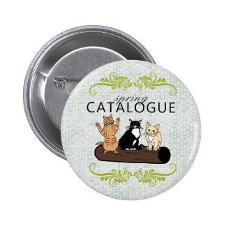 Frühlings-Katalog Runder Button 5,7 Cm