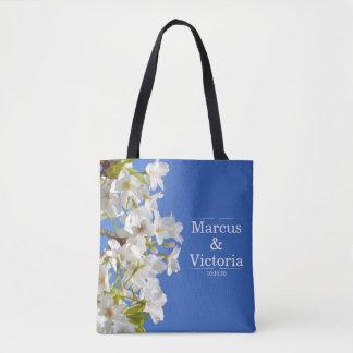 Frühlings-Kirschblüten-Hochzeit Tasche