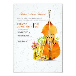 Frühlings-Konzert-Einladung Karte