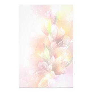 Frühlings-Lilien Briefpapier