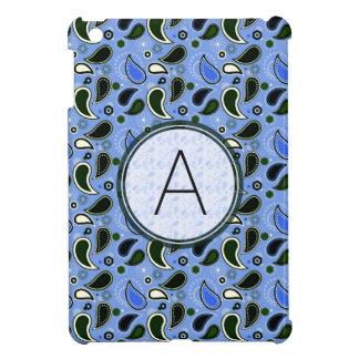 Frühlings-Paisley-Muster mit Monogramm iPad Mini Hüllen