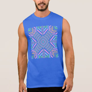 Frühlings-Pastell-nahtloses abstraktes Ärmelloses Shirt
