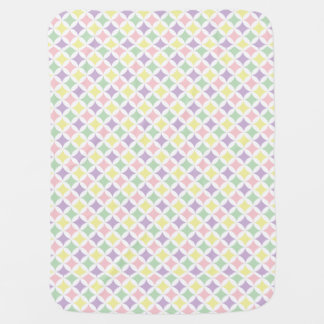 Frühlings-Pastelldiamant-Muster Puckdecke