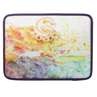 Frühlings-Pastelle und Gold durch Artandra Sleeve Für MacBooks