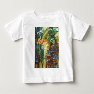Frühlings-Saison und Tauben Baby T-shirt