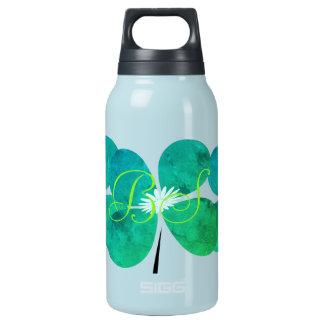 Frühlings-Sammlungs-Minzen-Grün-Blume addieren Isolierte Flasche