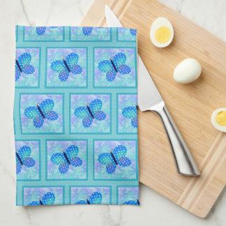 Frühlings-Schmetterlings-Geschirrtuch Handtuch