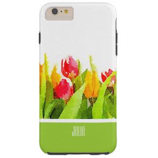 Frühlings-Tulpen Iphone 6 Fall Tough iPhone 6 Plus Hülle