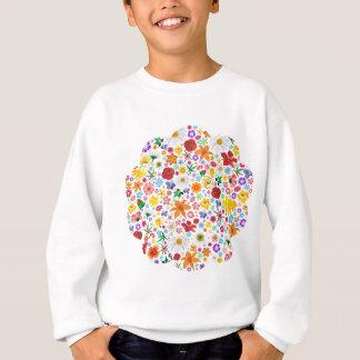 Frühlings-und Sommer-Blumen-Muster Sweatshirt