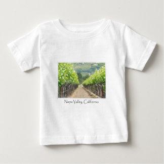 Frühlings-Weinberg in Napa Valley Kalifornien Baby T-shirt