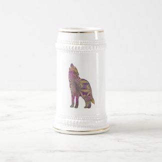 Frühlings-Wolf-Tasse Bierglas