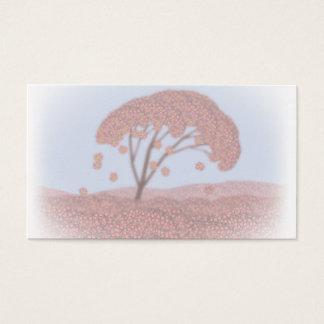 Frühlingsbaum-Visitenkarte Visitenkarte