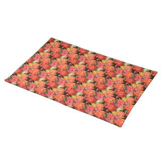 Frühlingsblumenstrauß durch Thespringgarden Stofftischset
