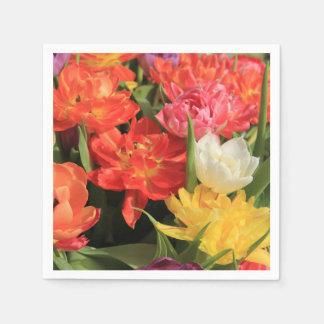 Frühlingsblumenstrauß durch Thespringgarden Serviette