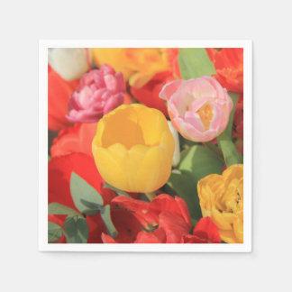 Frühlingsblumenstrauß durch Thespringgarden Papierservietten