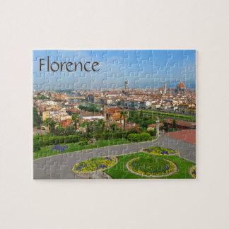 Frühlingsblüte in Florenz Puzzle
