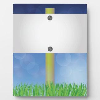 Frühlingsfahne Fotoplatte