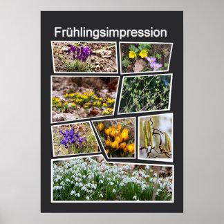 Frühlingsimpression Poster