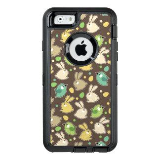 Frühlingsmuster mit Ostereiern, Vögel OtterBox iPhone 6/6s Hülle
