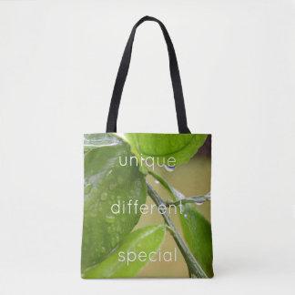 Frühlingsregen-Grün-Taschentasche Tasche