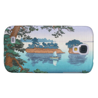 Frühlingsregen, Matsushima japanische waterscape Galaxy S4 Hülle