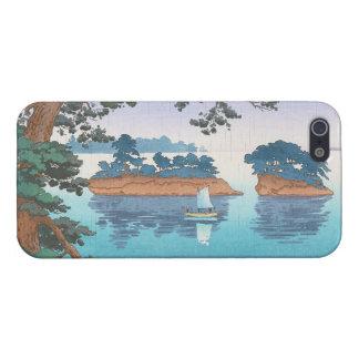 Frühlingsregen, Matsushima japanische waterscape iPhone 5 Schutzhülle