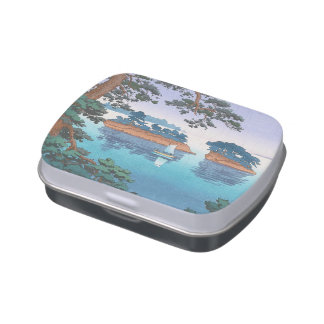 Frühlingsregen, Matsushima japanische waterscape Jelly Belly Dosen