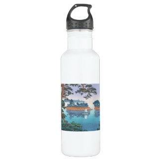 Frühlingsregen, Matsushima japanische waterscape Trinkflasche
